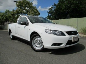 ABN Holder Vehicle - 2010 Ford Falcon FG Upgrade Utility for sale in